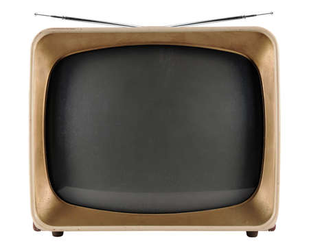 Vintage TV from the 1950s photo