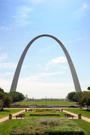 Saint Louis Arch and the Jefferson National Memorial Park