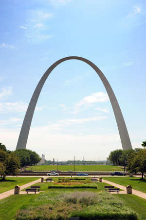 Saint Louis Arch and the Jefferson National Memorial Park