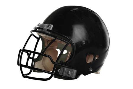 Football helmet isolated over white background Stock Photo - 15122815