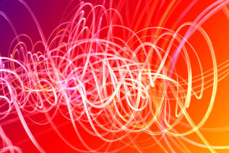 colors: Waves of multicolor forms isolated over color background
