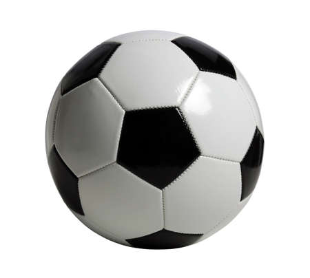 Soccer ball isolated over white background - With clipping path Stock Photo - 15324013