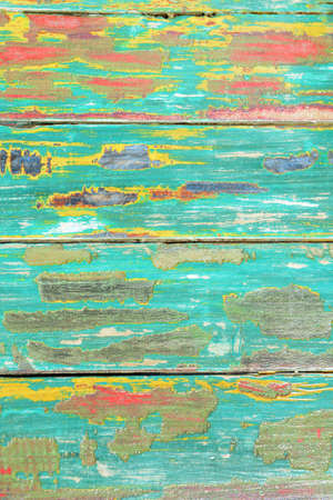 Old weathered painted wood From a chair in the Bahamas photo