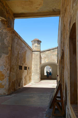 san juan: San Cristobal Fort in Old San Juan Puerto Rico