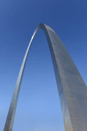 View of the saint Louis Gateway to the West Arch during clear day