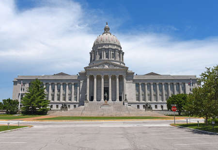 Missouri State Capitol in JEfferson City during the day Archivio Fotografico