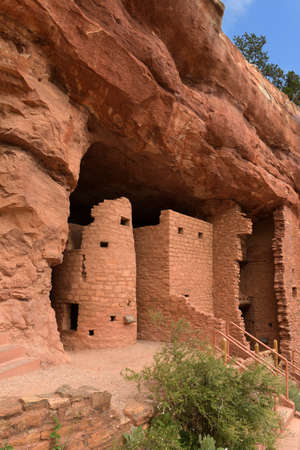 Manitou Cliff Dwellings in Colorado Springs Banque d'images