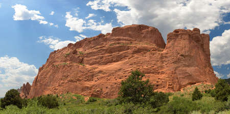 Garden of the Gods in Colorado Springs - Stitched from 6 images