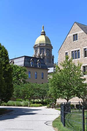 """South Bend, IN, USA â ? """"Juin 24, 2016: Université de Notre campus Dame à South Bend, Indiana. Banque d'images - 69962138"""