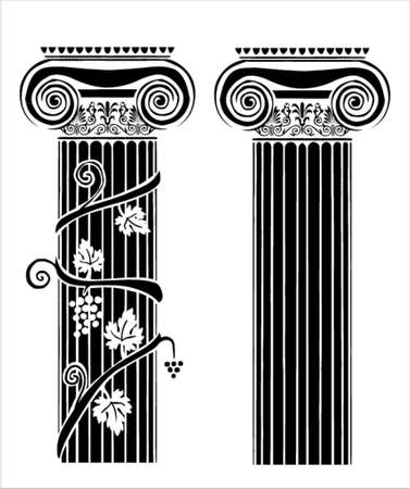 ornaments vector: Greek ornaments
