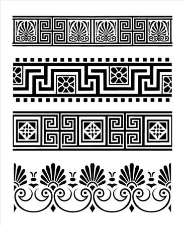 corner ornament: Greek ornaments