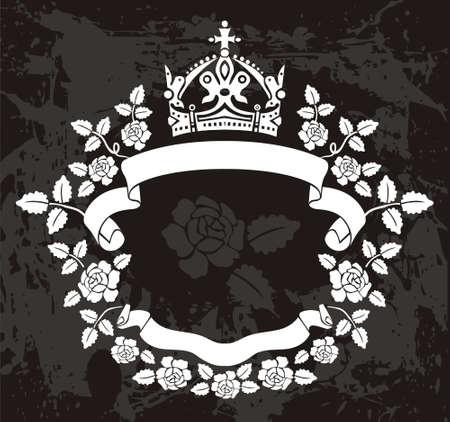crown of light: Frame Illustration