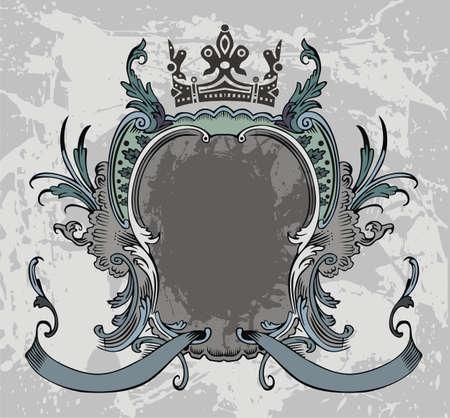 aristocratically: Frame Illustration