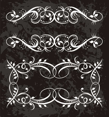 ornaments vector: Frame Illustration