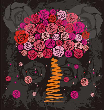 vector artwork: Rose