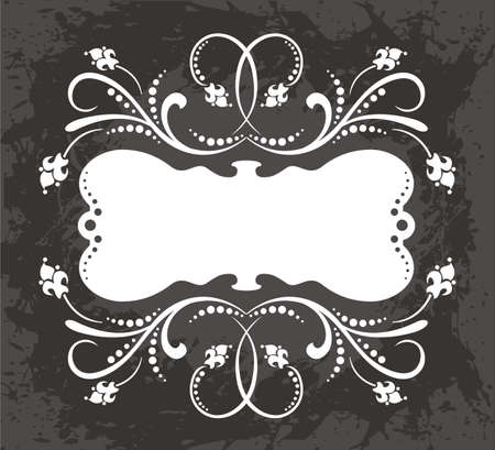 ribbon vector set: Frame Illustration