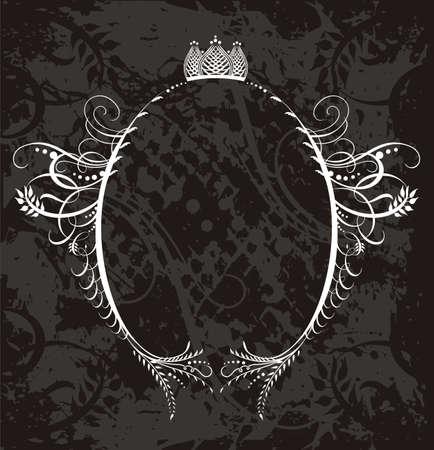 monogram: Frame Illustration