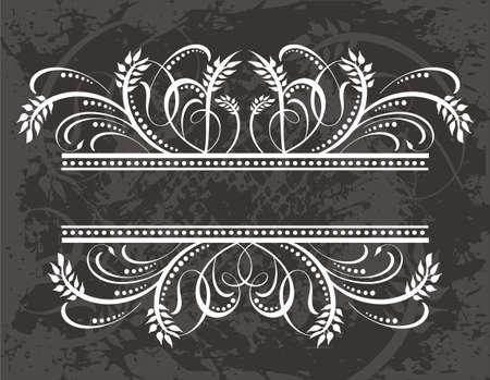 crown silhouette: Cornice  Vettoriali