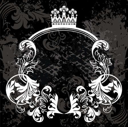 grunge wings: Cornice  Vettoriali