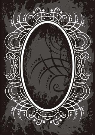 dirty t shirt: Frame Illustration