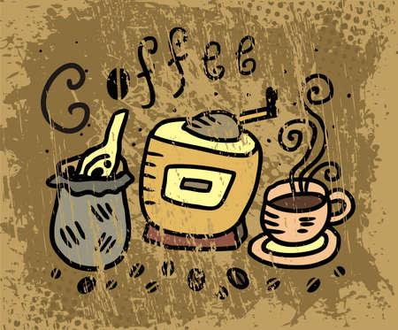 illustration of coffee
