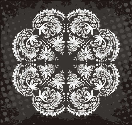 textile image: Floral pattern
