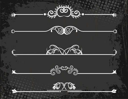 koninklijke kroon: regel lijn Stock Illustratie