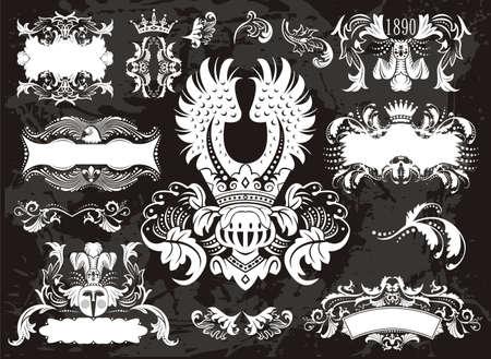 grunge wings: cornici casco vecchi impostare