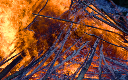 Fire flames background. burn scrap, hot and cold. Abstrackt colorfull background.