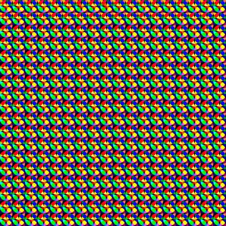 abstrakt: many different colors Illustration