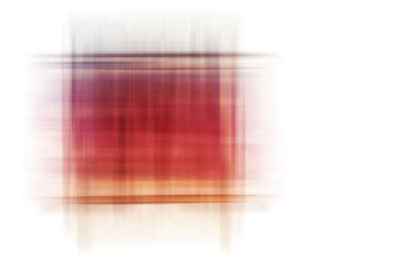 moulder: The digital drawing of coloured crossed lines to an abstract quadrangle               Stock Photo