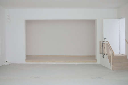 renovated: The photograph of a newly renovated interior