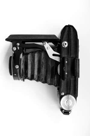folding camera: Old folding camera