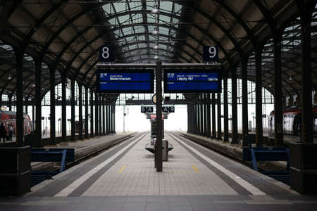 Germany - October 15, 2017: The interior of Wiesbaden stock photography The interior of Wiesbaden.
