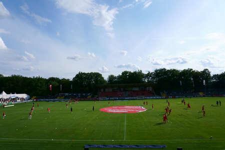 Alzenau, Germany - August 24, 2019: Alzenau a football club on August 24, 2019 in Alzenau.