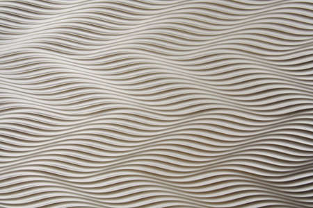 A white background with waves and stripes