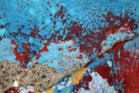 muro rotto: Nizza sfondo astratto da un muro rotto Archivio Fotografico