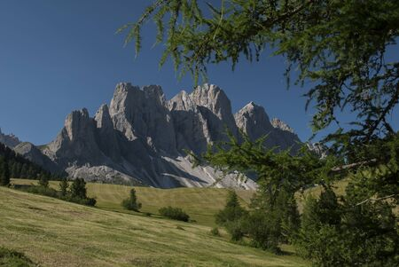 odle: Odle di Funes, Italy Stock Photo