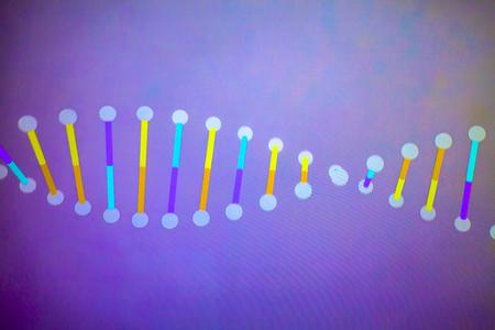 DNA helix photo
