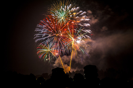panoply: Bright and colorful fireworks