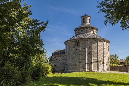 San Tome, Romanesque church near Almenno San Bartolomeo (Bergamo, Lombardy, Italy) Archivio Fotografico