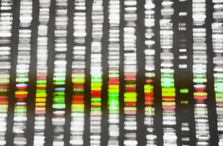 DNA sequence Archivio Fotografico