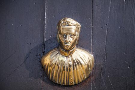 doge: Italian door knocker in the form of Venetian Doge