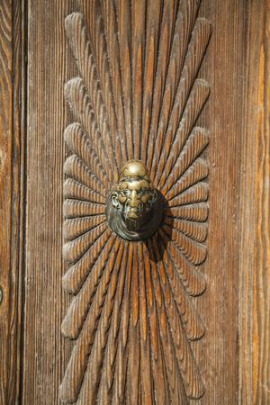 Italian Door Knocker Stock Photo