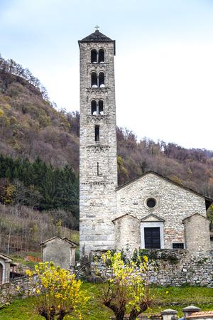 alexander: Romanesque Church of St. Alexander in Lasnigo
