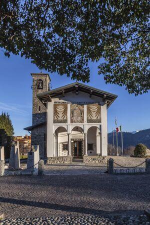 virgen maria: Ghisallo: santuario dedicado a Madonna Protectora de los ciclistas