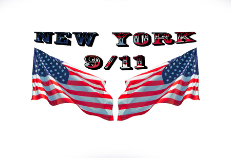 new york city, patriot day, never forget, september, 11, 2001 Stock Photo