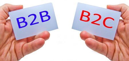business to business versus business to consumer - b2b vs b2c