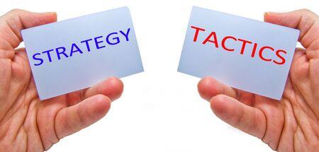 strategy versus tactics concepts