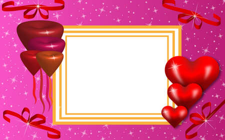 valentine's day card. concept for Saint Valentine feast, love, copyspace availabe for your message